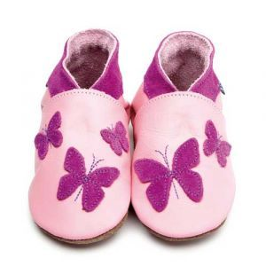 Kaleidoscope Pink Soft Leather Shoes
