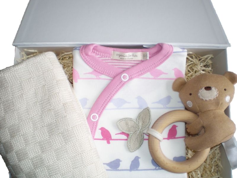 Baby gift box with name : Little princess baby gift box